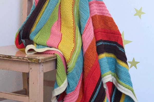 Hanna Home Colorburst Throw for Kids Room
