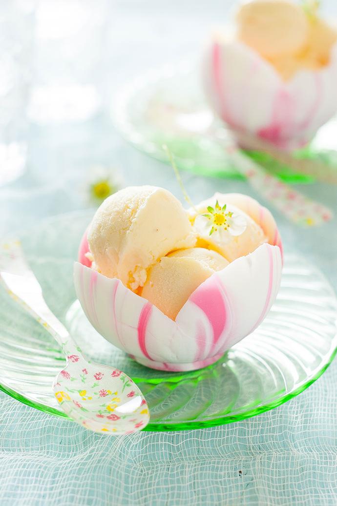 Flower Petal White Chocolate Bowl Recipe