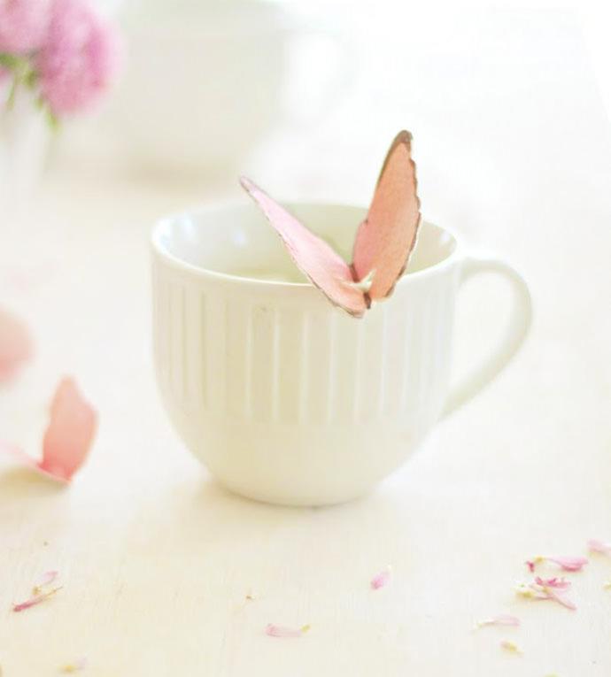 DIY Butterfly Tea Bag Tag