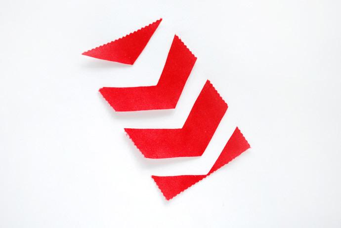 Simple Stitch Mini Flag Banner Craft