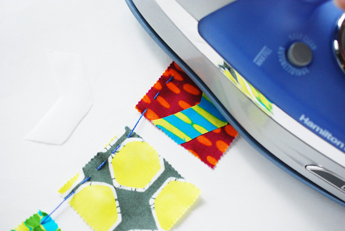 Simple-Stitch Mini Flag Banners