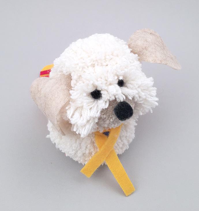 DIY Pom Pom Puppy Pal