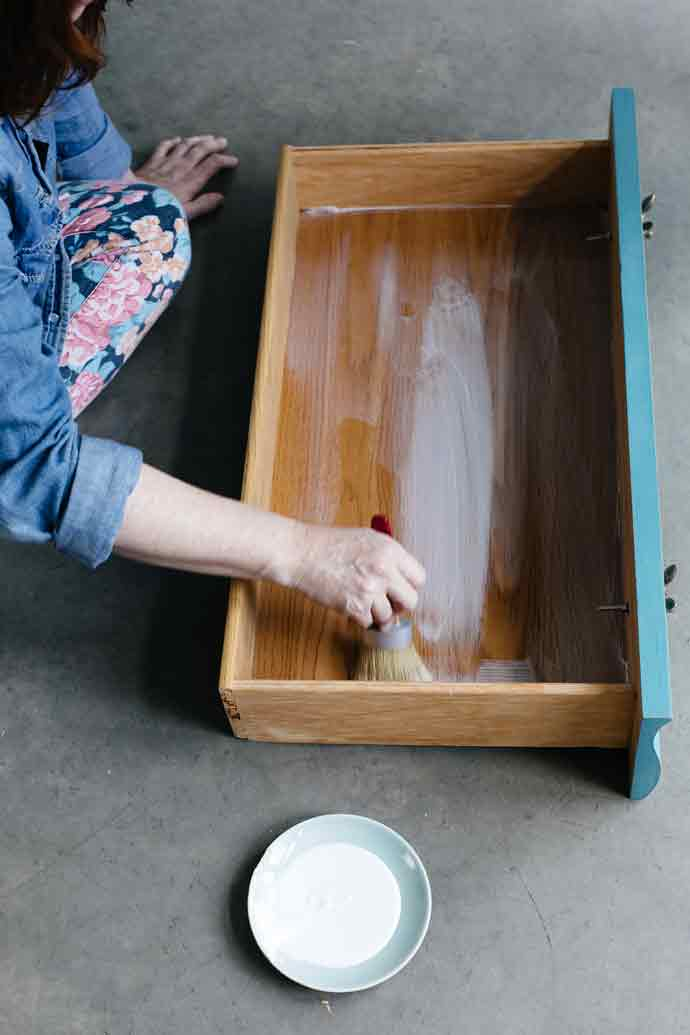 Diy Waverly Fabric Drawer Lining How To