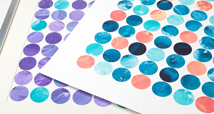 DIY Watercolor Circles