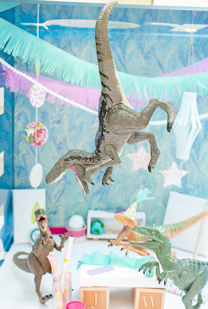 Dinosaur Party DIY Straight from Jurassic World