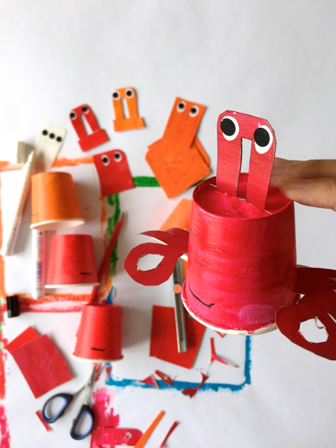 Reel In The Fun With A Diy Paper Cup Fishing Game Handmade Charlotte