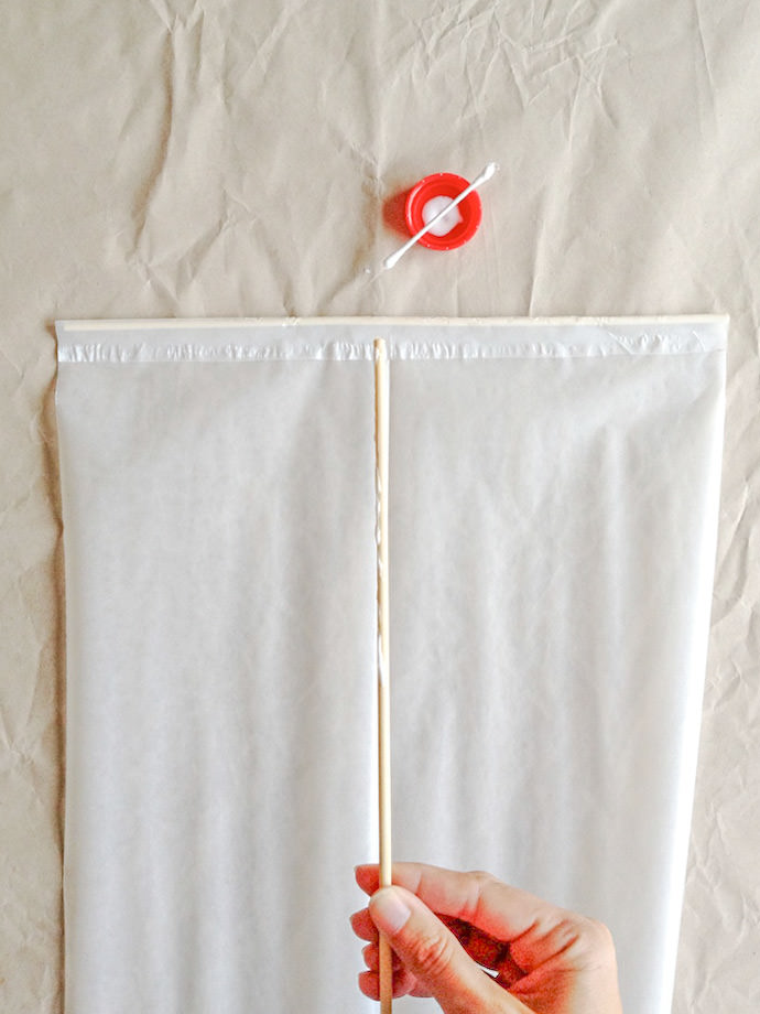 How to make a Japanese Kite: Step 1