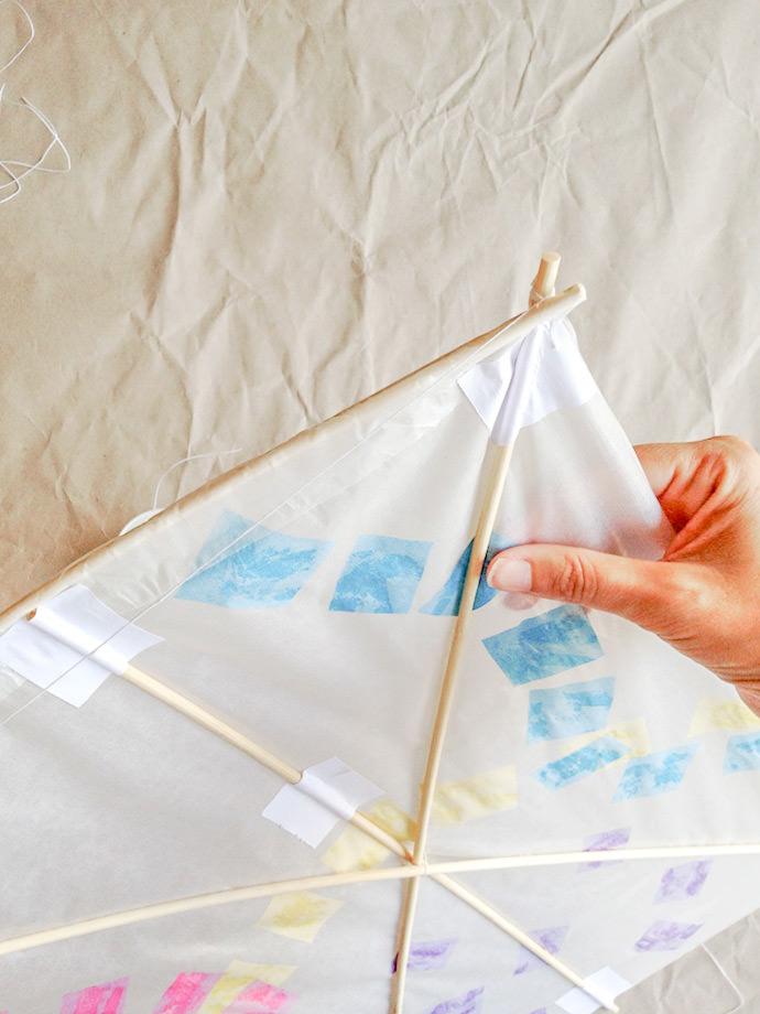 How to make a Japanese Kite: Step 6