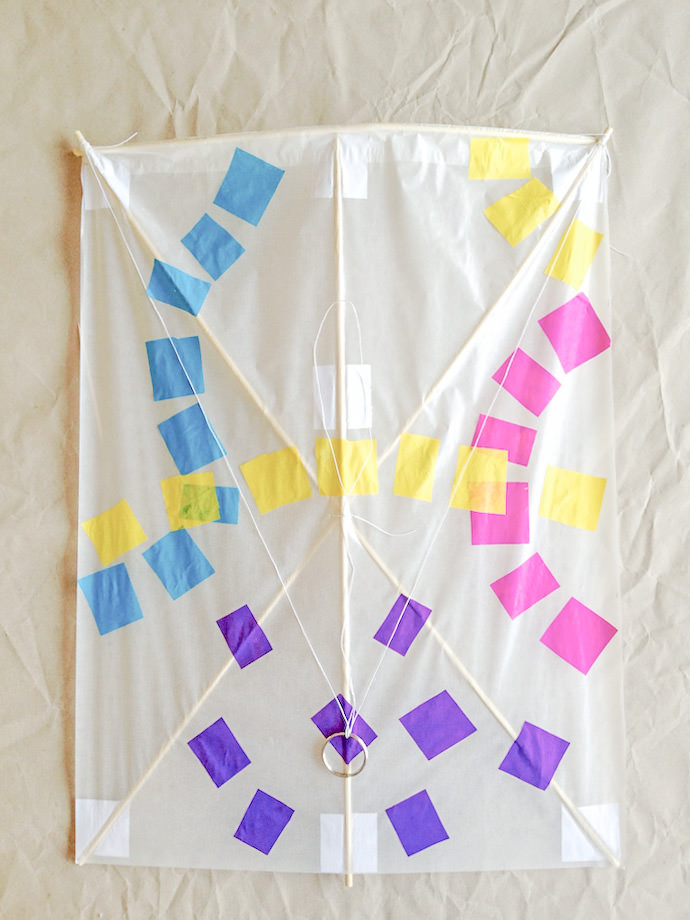 How to make a Japanese Kite: Step 7
