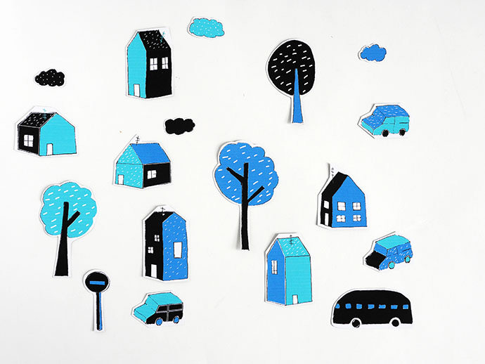 DIY Printable City Magnets