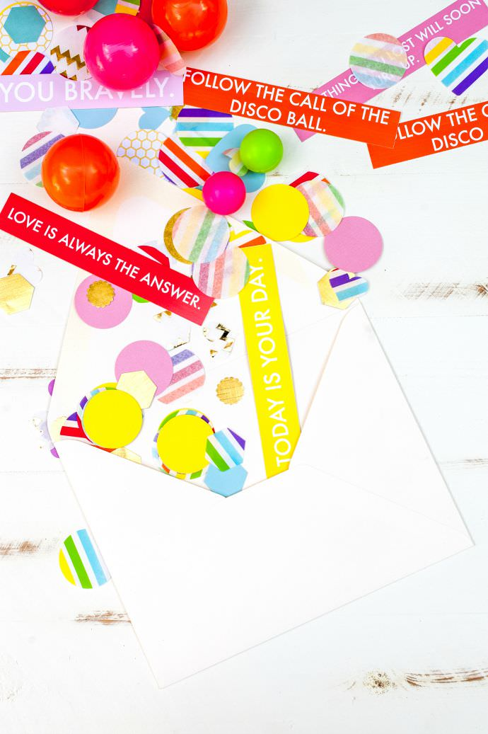 How to Make a DIY Birthday Confetti Envelope