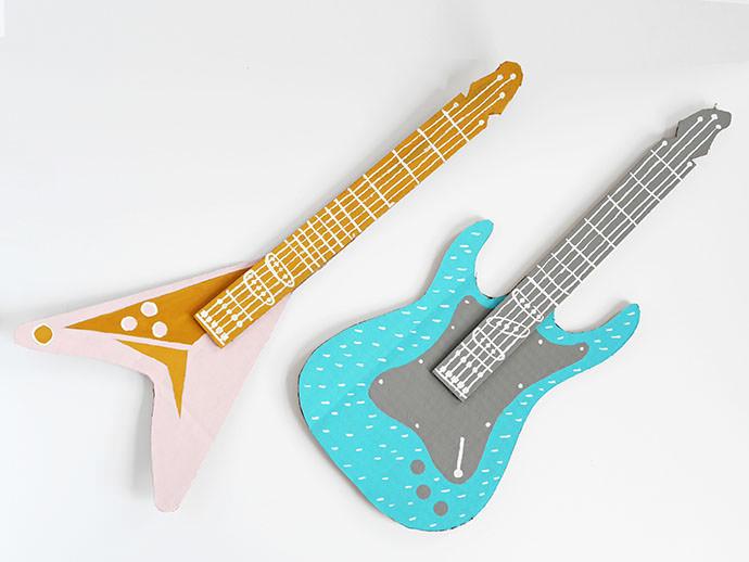 How To Make A Guitar For Your Rockstar ⋆ Handmade Charlotte
