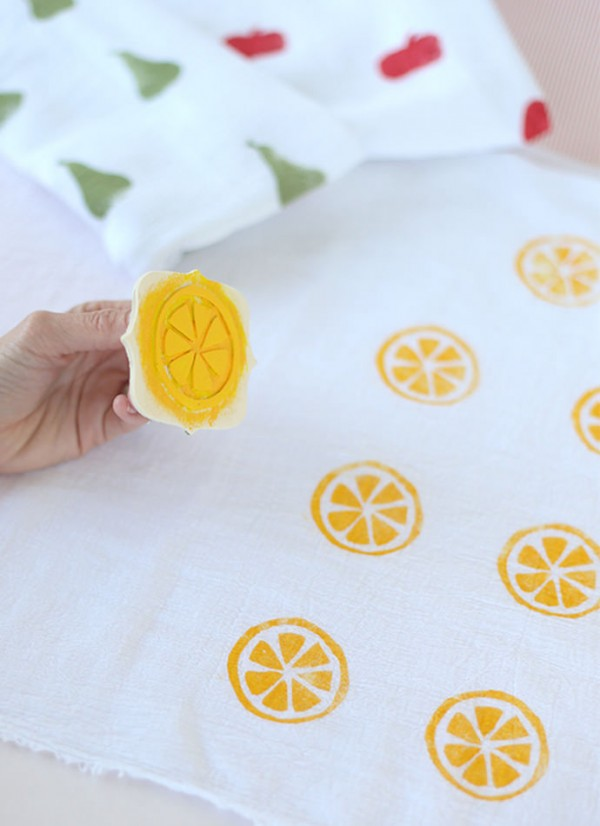 Say Yes Citrus Swaddle Blankets