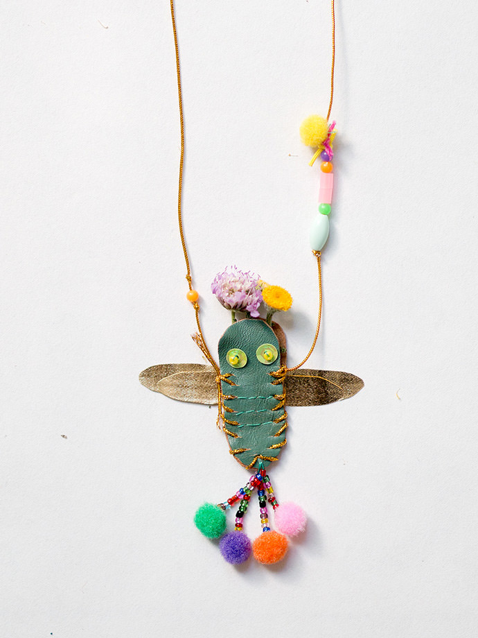 How to Make Your Own DIY Dragonfly Necklace