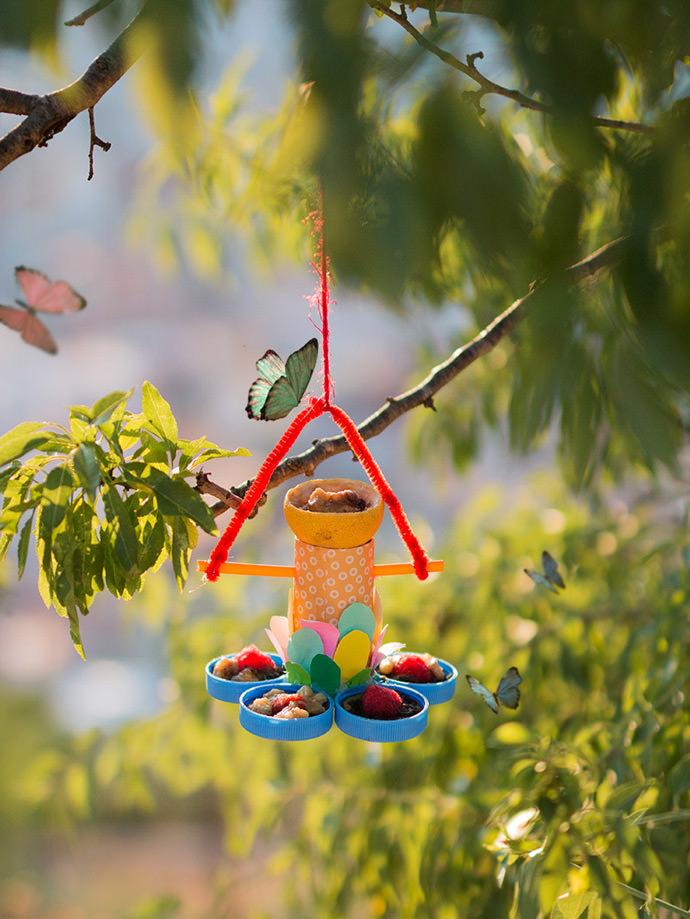 How To Make A Recycled Butterfly Feeder ⋆ Handmade Charlotte