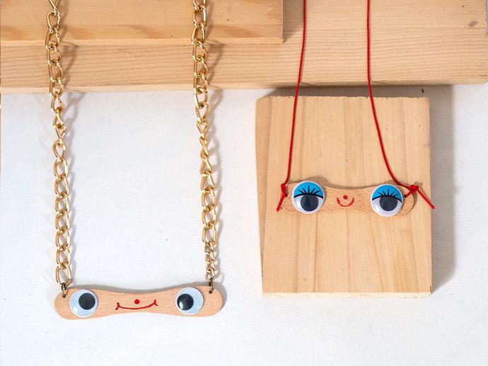 DIY Popsicle Stick Jewelry