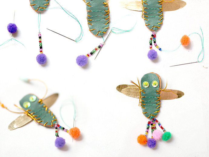 Make Your Own DIY Dragonfly Necklace: Step 4.1