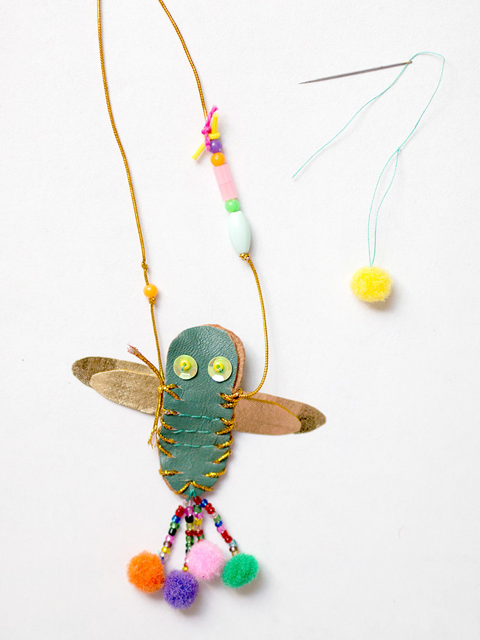 Make Your Own DIY Dragonfly Necklace: Step 4.2