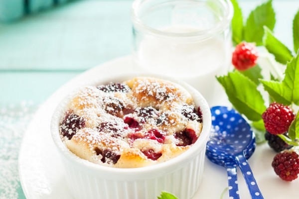 Blackberry Lime Clafoutis Recipe