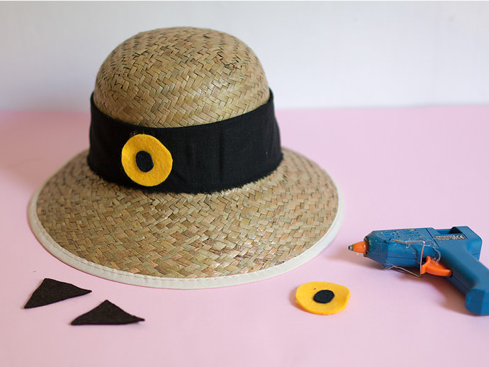DIY Sunhats Step 2