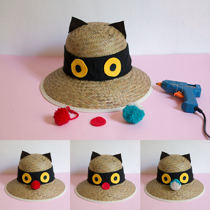 DIY Sunhats Step 3