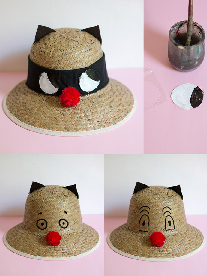 DIY Sunhats Step 4