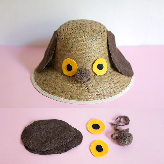 Diy Crazy Hat: DIY Funny Faced Sunhats