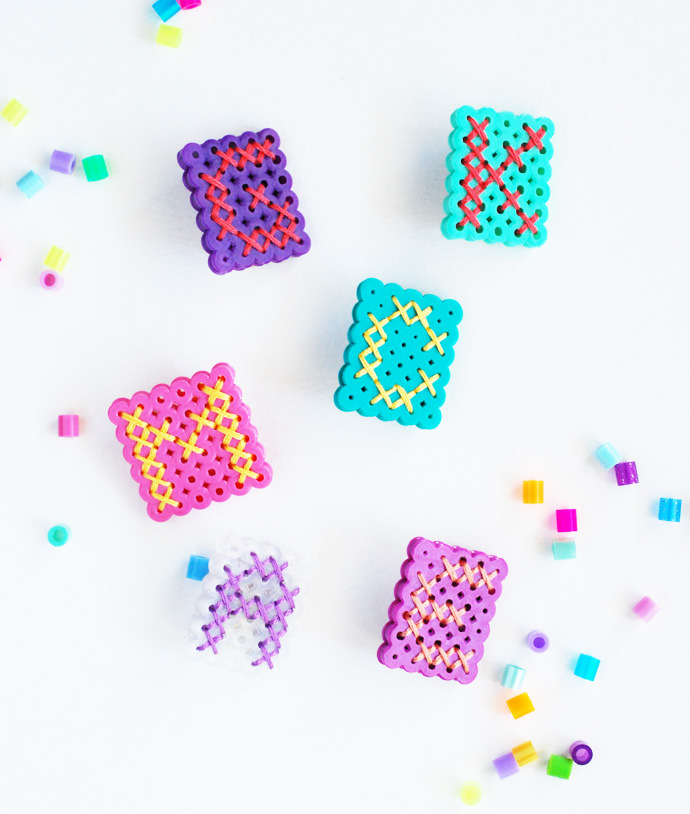 How to Make Perler Bead Monograms ⋆ Handmade Charlotte
