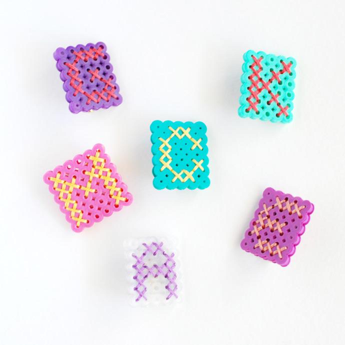 How to Make DIY Perler Bead Monograms