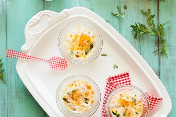 Garden Vegetable Baked Eggs