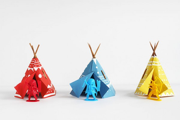 DIY Teepee Village