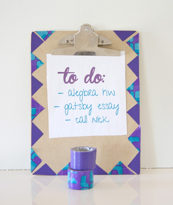 Notebook and Clipboard Makeovers via A Bubbly Life