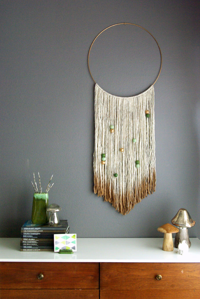 6 easy pieces diy wall hangings handmade charlotte