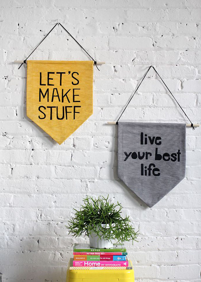 Hanging Wall 6 easy pieces: diy wall hangings | handmade charlotte