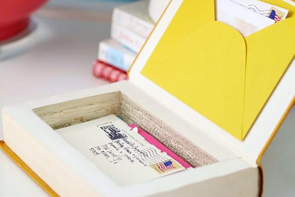 DIY Book Keepsake Box