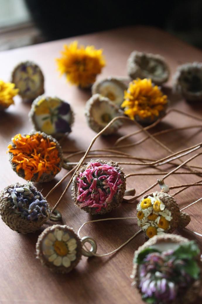 DIY Acorn Jewelry