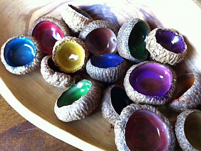6 acorn craft ideas for fall handmade charlotte for How to preserve acorns for crafts