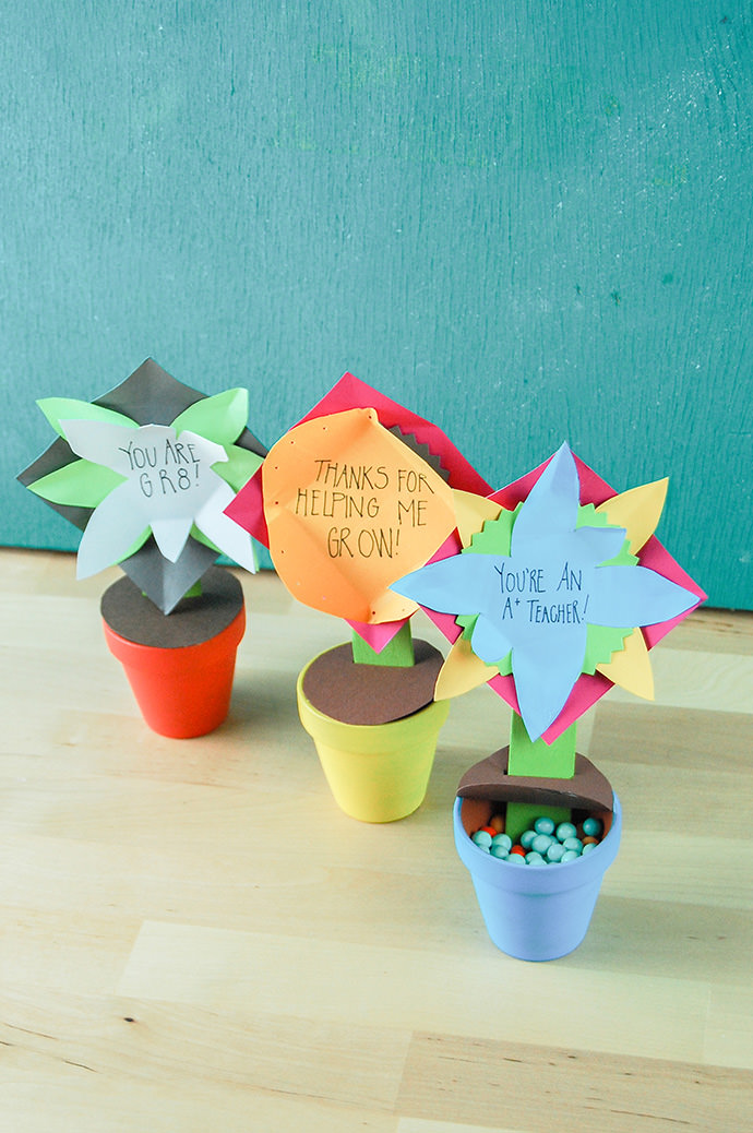 Flower Pot Message