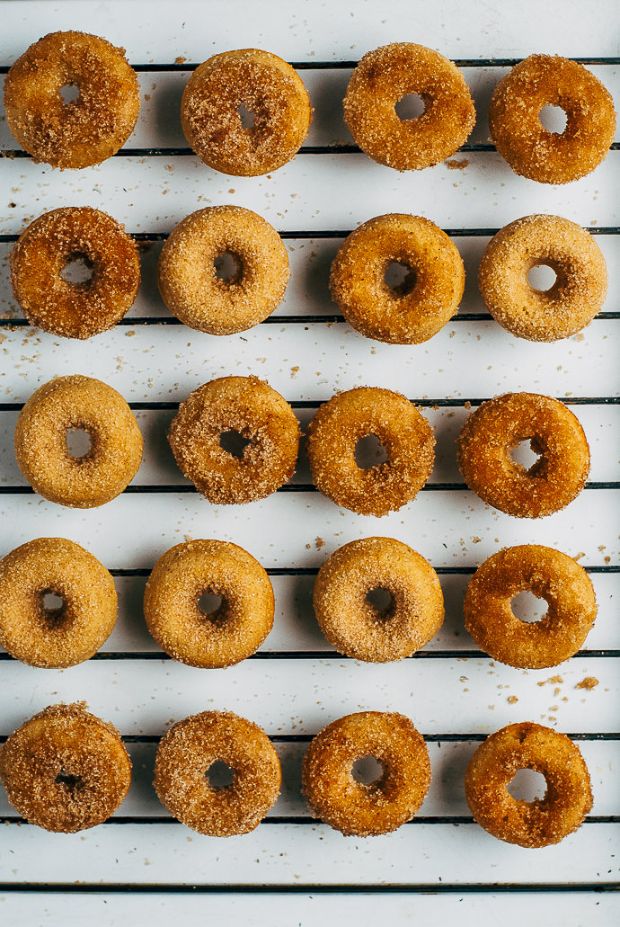 Recipe: Baked Apple Cider Mini Donuts