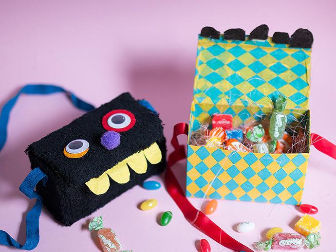 Tea Box Monster