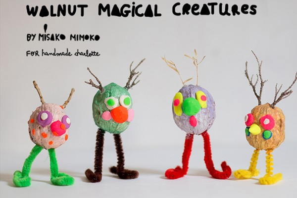 Magical Walnut Creatures