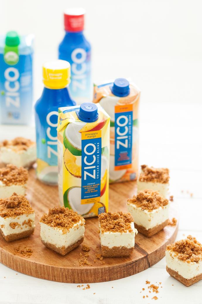 ZICO Key Lime Pie Bites