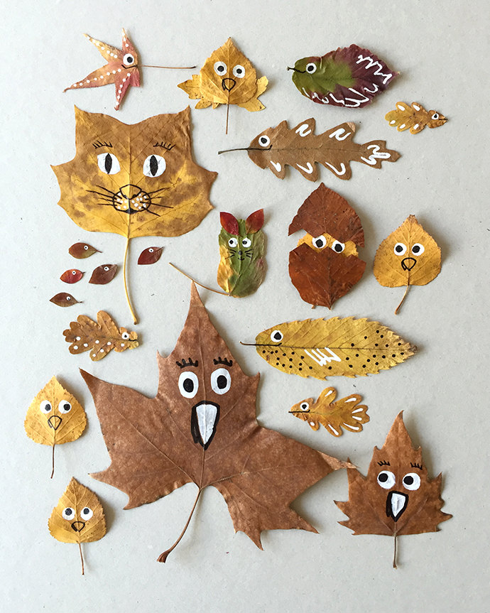 """""""Fall"""" In Love with These Quirky Leaf Friends"""