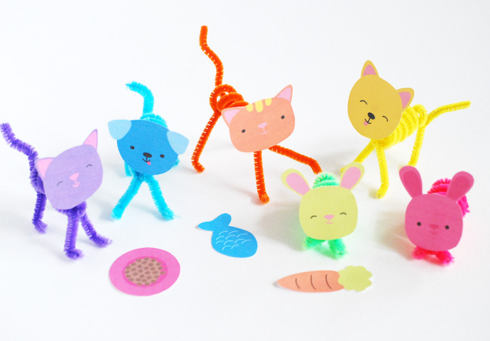 Posable Pet Pals
