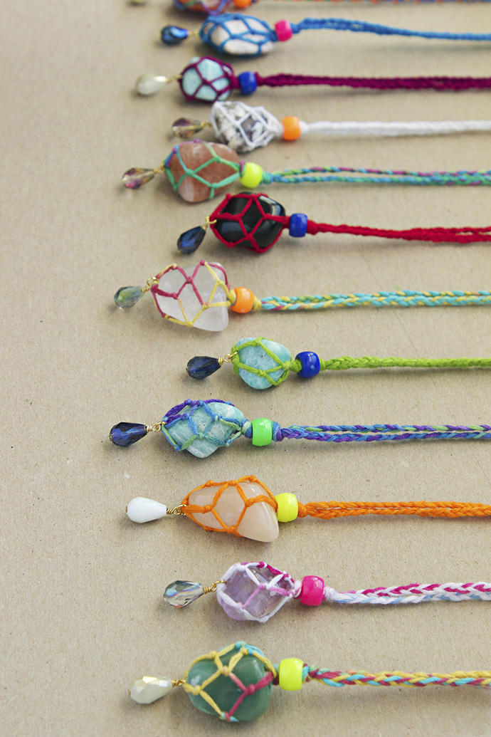 Kid Friendly Bling 6 Diy Necklaces Handmade Charlotte