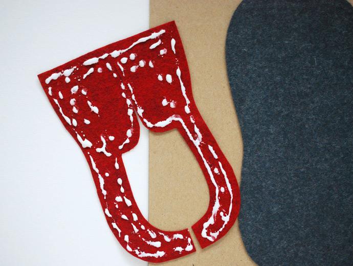 DIY Shoe Tying Practice Board Handmade Charlotte