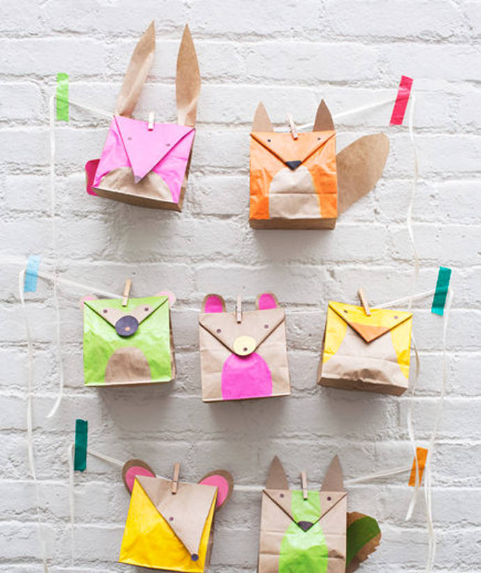 6 awesome paper bag crafts for kids handmade charlotte for Brown paper bag crafts for preschoolers