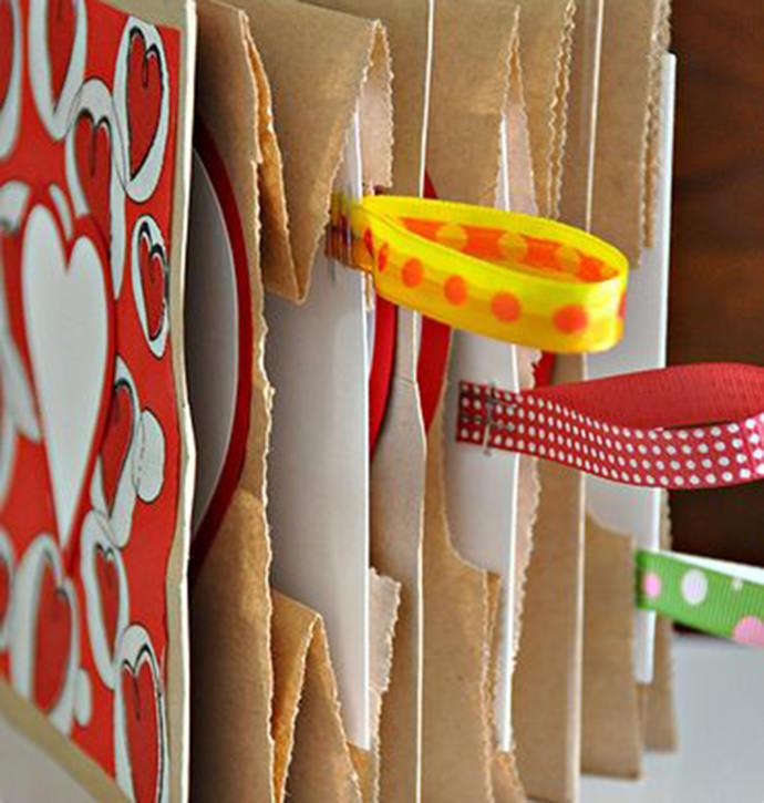 DIY Paper Bag Books for Kids