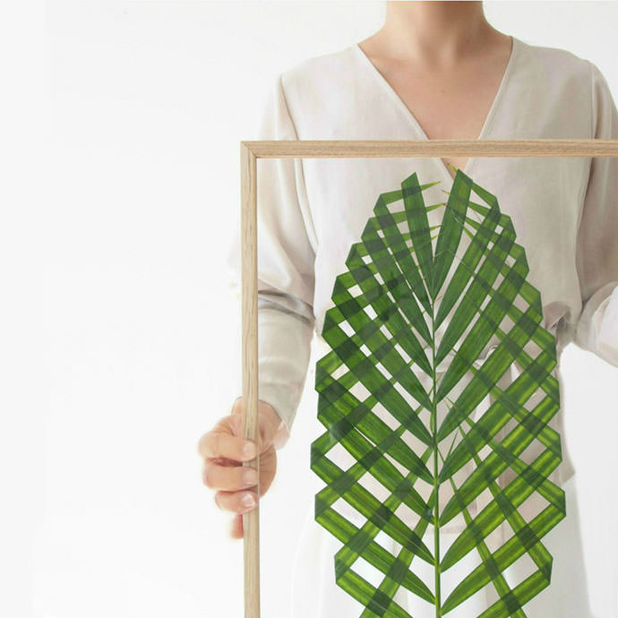 DIY Leaf Art, tutorial via Monsters Circus