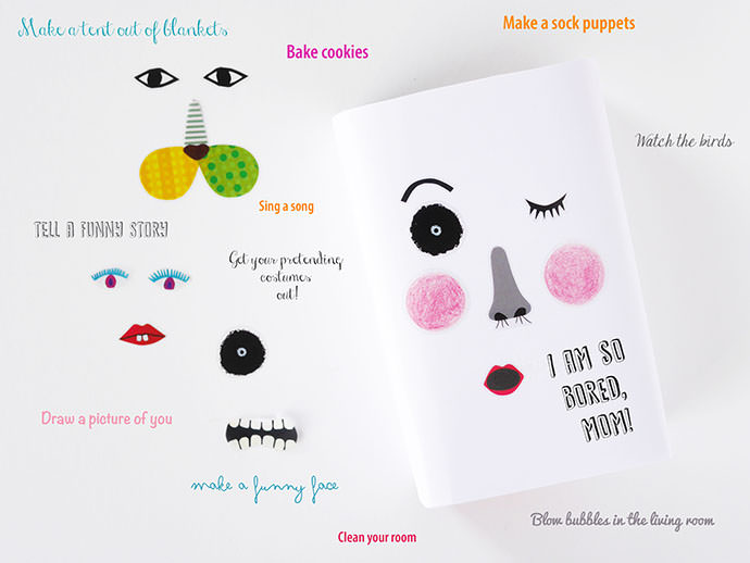 Chase Away Boredom Blues With A Diy Idea Box ⋆ Handmade